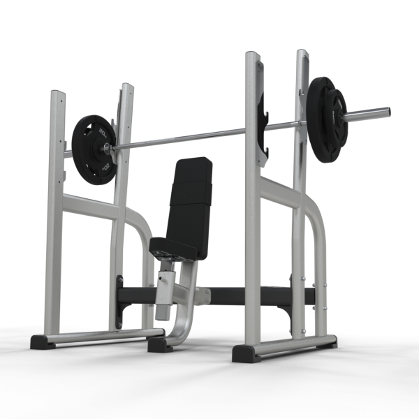 Inspace Olympic Military Press Bench