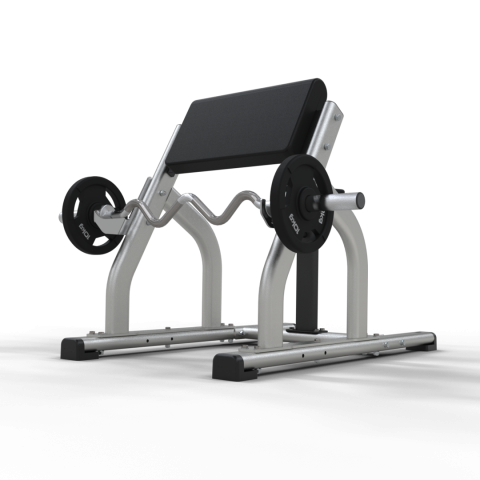 Inspace Seated Preacher Curl Bench