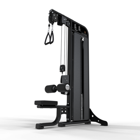Inspace Selectorised Dual Cable Lateral Pulldown